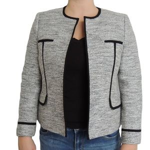 KASPER Black & White Blazer Work Wear 14P